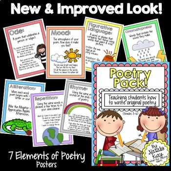 Poetry Pack - Poetry Writing Unit