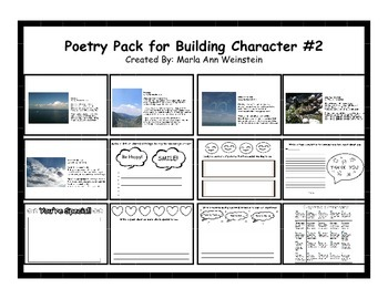 Poetry Pack for Building Character #2
