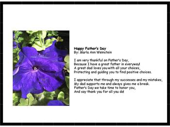 Father's Day Poetry Pack