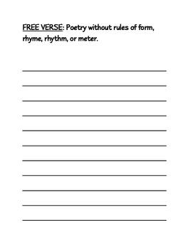 Poetry Packet
