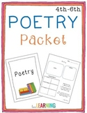 Poetry Packet {4th - 6th Grade}