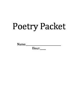 Poetry Packet Workbook
