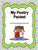 Poetry Packet by EG