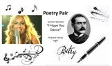 "Poetry Pair:  ""I Hope You Dance"" By Lee Ann Womack and ""If"" by Rudyard Kipling"