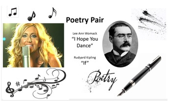 "Poetry Pair:  ""I Hope You Dance"" By Lee Ann Womack and ""If"" by Rudyard Kipling"