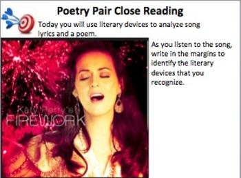 """Poetry Pair:  Katy Perry """"Firework"""" and Edgar Lee Masters """"George Gray"""""""