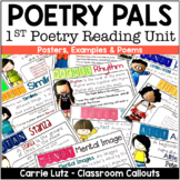 Poetry POSTERS and Activities (Poetry Packet)