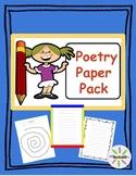 Poetry Paper Pack