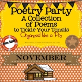 Poetry Party a Collection of Poems to Tickle Your Tonsils for November