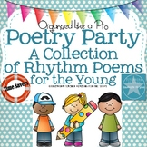 Poetry Party a Collection of Poems to Tickle Your Tonsils for the Young