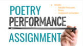 Poetry Performance Assignment