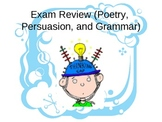 Poetry, Persuasion, and Grammar Review Game