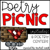 Poetry Picnic Centers! Practice Poetic Devices {6 center activities}