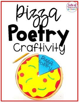 Poetry Pizza Craftivity