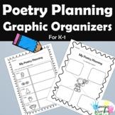 Graphic Organizer K-1 Poetry  FREE