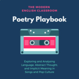Poetry Playbook: Analysing Figurative Language and Meaning in Popular Songs
