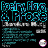 Comparing Poetry, Drama, and Prose {CCSS RL.4.5}