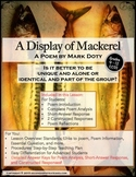Poetry Analysis and Close Reading: A Display of Mackerel b