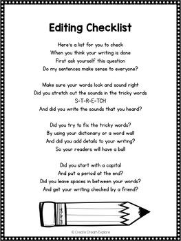 Poem of the Week Activities with Original Poetry