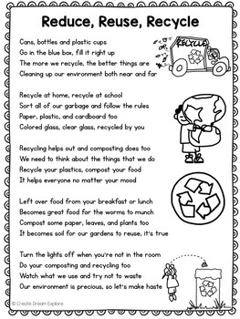 Poem of the Week with Activities and Original Poetry