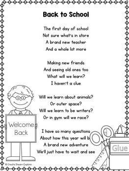Poem of the Week Activities with Original Poetry Pack 6