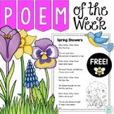 Spring Poetry for Poem of the Week