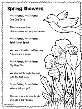 Spring Poetry for Poem of the Week