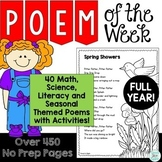 Poem of the Week Mega Bundle for Poetry