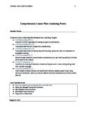 Poetry Point of View Guide Lesson Plan-Shel Silverstein & Kenn Nesbitt