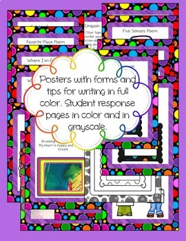 Poetry Writing Unit for Grades 4 and 5