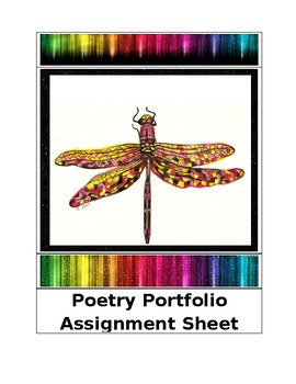 Poetry Portfolio Assignment Sheet