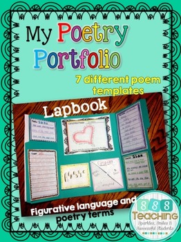 Poetry Portfolio Lapbook Assessment