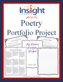 Poetry Portfolio Project - Reading Response, Project Menu & More