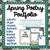 Poetry Portfolio, Spring Theme, Teaching Guide, Sample Poe