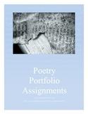 Poetry Portfolio Printable Assignments