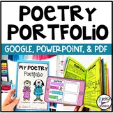 Poetry Portfolio Booklets | Anchor Charts | Poems | Distance Learning | GOOGLE