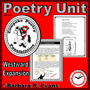 POETRY UNIT Cowboy Activities Poetry Elements Poetry Forms Writing History