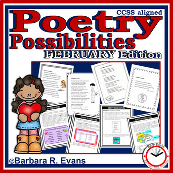 POETRY UNIT February Poetry Activities Poetry Forms Poetry Elements Writing