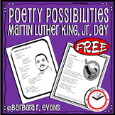 POETRY UNIT: Poetry Elements, Poetry Forms, Poetry Writing, MLK Jr. Day