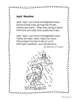 SPRING POETRY UNIT: Poetry Activities, Spring Poetry Writing, Poetry Forms