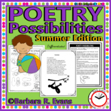 POETRY UNIT: Poetry Activities, Poetry Elements, Poetry Fo