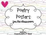 Poetry Posters {FREEBIE}