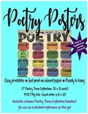 Poetry Posters: Instant, Vibrant Display! Just Print on Co
