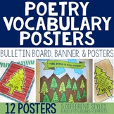 Poetry Posters, Poetry Bulletin Board, Poetry Vocabulary P