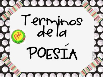 Poetry Posters (Spanish version)