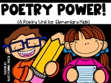 Poetry Power! (A Poetry Unit for Elementary Kids!)