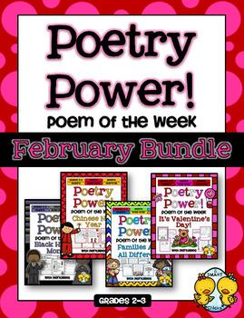 Poem of the Week: FEBRUARY BUNDLE Poetry Power!
