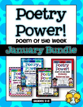 Poem of the Week: JANUARY BUNDLE Poetry Power!