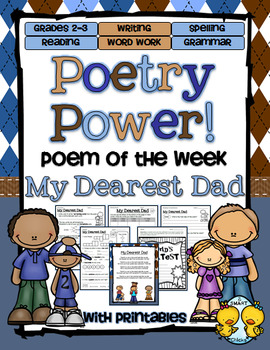 Father's Day Poetry Power! Daily Literacy Practice