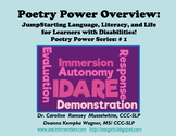 Poetry Power Overview:  Language, Literacy, & Life for Lea